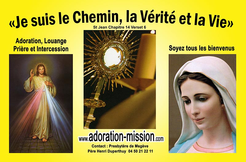 Adoration Mission Louange Prière Intercession
